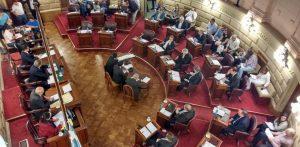 Segunda sesión ordinaria de Senadores