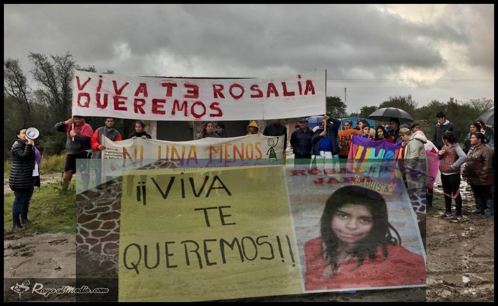 Fortín Olmos: Importante marcha por la aparición de Rosalía Jara
