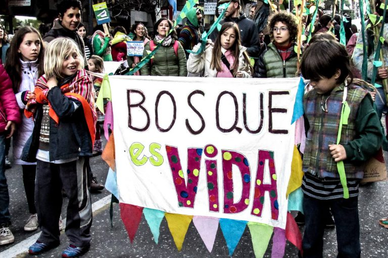 Córdoba: Marcha en Defensa del Bosque Nativo