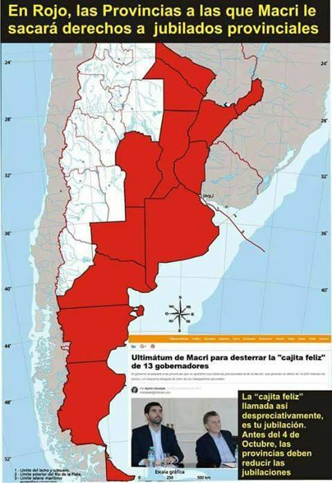 Vienen por todo: Macri le pidió a Santa Fe que entregue la Caja de Jubilaciones y que deje de pagar el 82% móvil