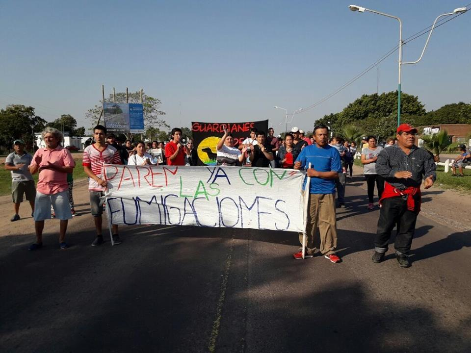 Corrientes: Corte de Ruta para frenar la muerte de niños por el agronegocio