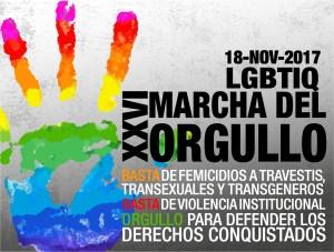 26° Marcha del Orgullo y la Diversidad Sexual