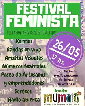 Festival Feminista: Por la soberanía de nuestros cuerpos