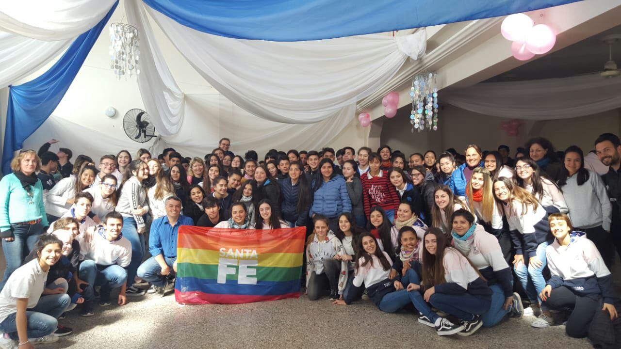 Charla sobre diversidad y sexualidad en la Escuela 593