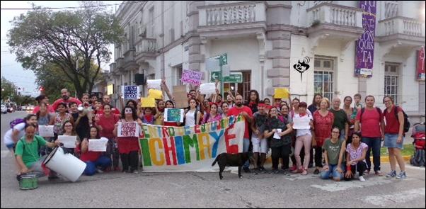 Marcha en defensa del Teatro independiente