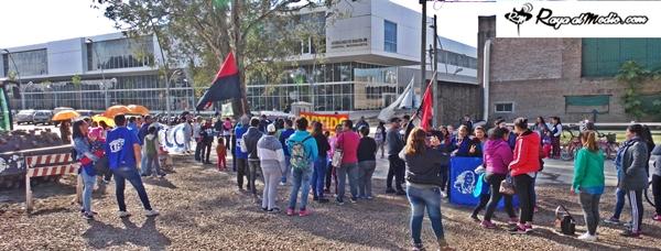 Paro Nacional en Reconquista: Manifestación contra el ajuste en el Hospital