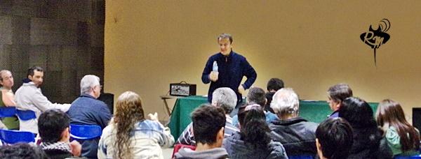 """Carlos Delfrade presentó """"La Forestal"""" en Reconquista"""