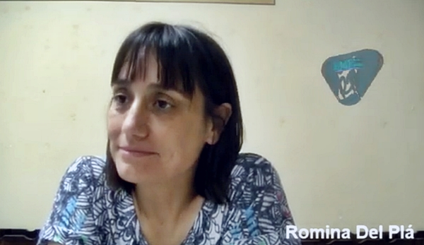 Entrevista a Romina Del Plá en Reconquista