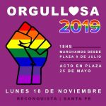 Orgullosa 2019: 2da Marcha de les disidencias sexuales