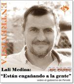 """Lali Medina: """"Están engañando a la gente"""""""