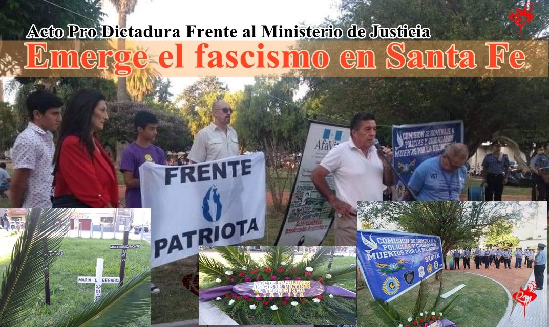 Emerge el fascismo en Santa fe