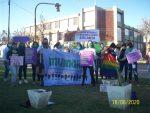 Fuerte reclamo de movimientos de mujeres al gobierno de Avellaneda