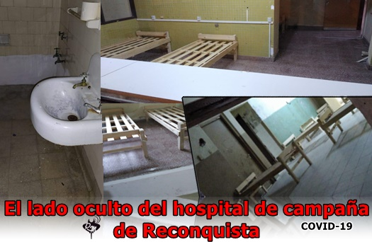 El lado oculto del hospital de campaña de Reconquista