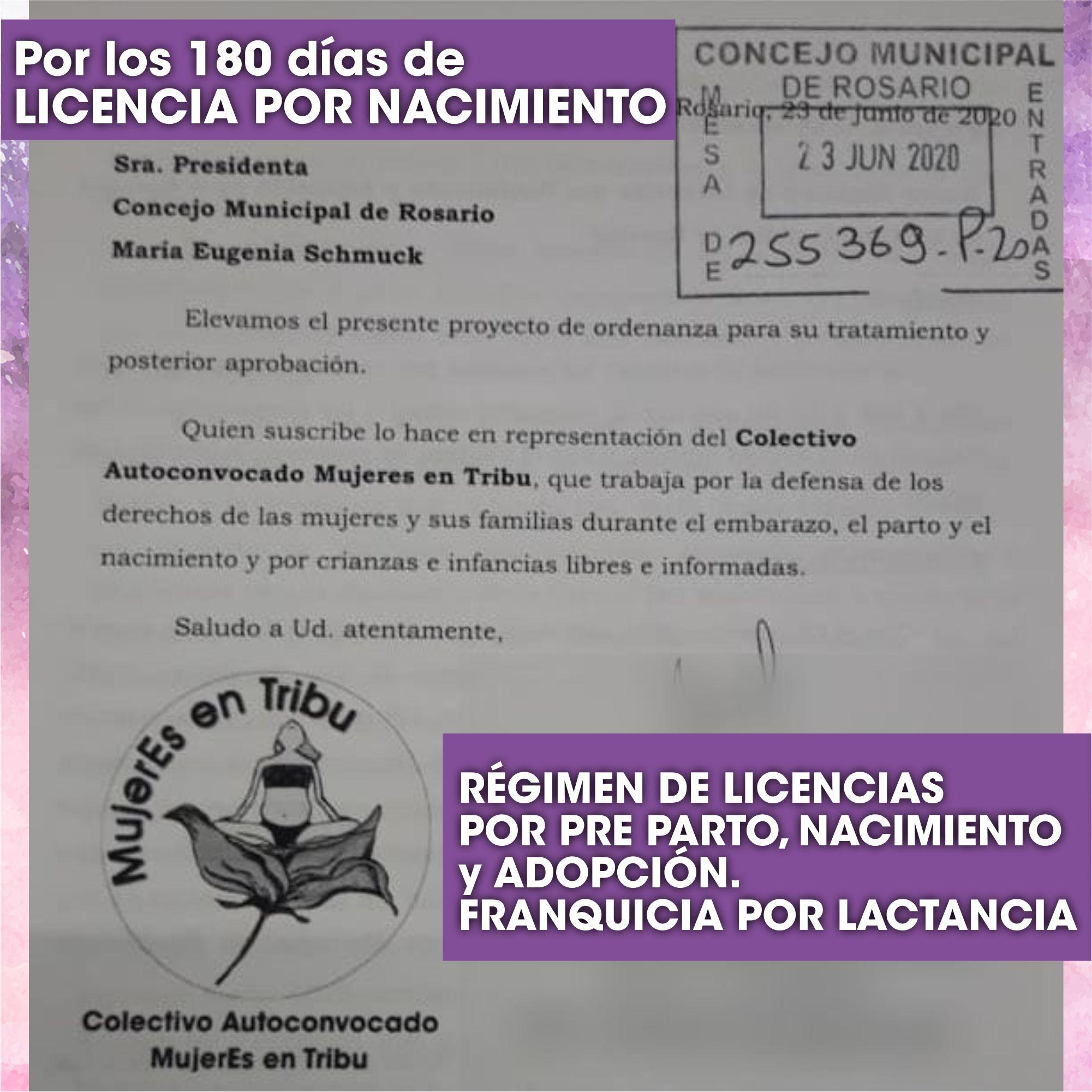 Rosario: Proponen un régimen de licencias igualitarias de 180 días por nacimiento