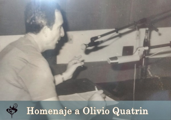 Olivio Quatrin: Homenaje a uno de los creadores del periodismo reconquistense