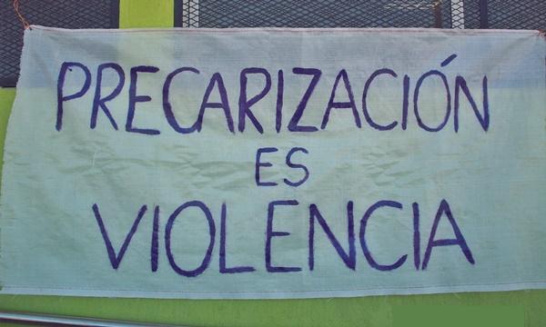 Avellaneda, Precarización Laboral, Despidos e Intimidación de la Fuerza Pública