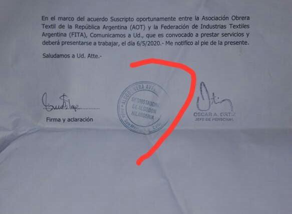 """Algodonera Avellaneda: """"A confesión de parte, relevo de pruebas"""""""