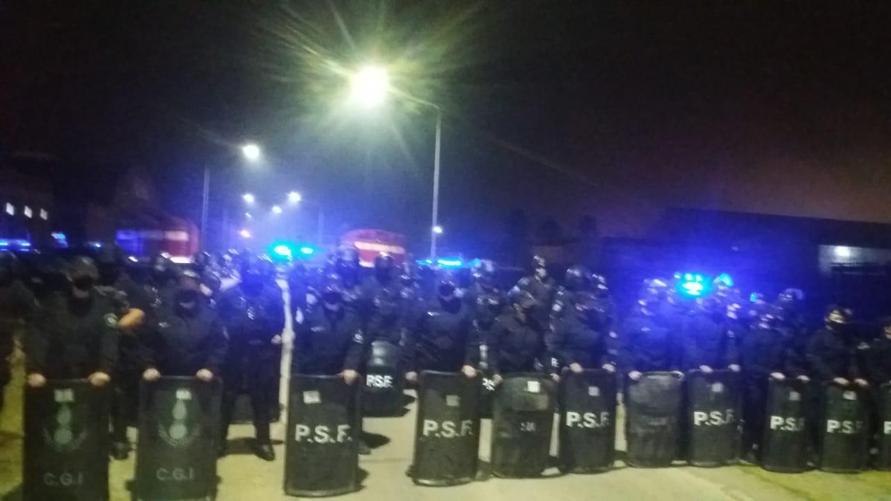 Algodonera Avellaneda: El Juez hizo desalojar el Parque y se quebró con el derecho a huelga