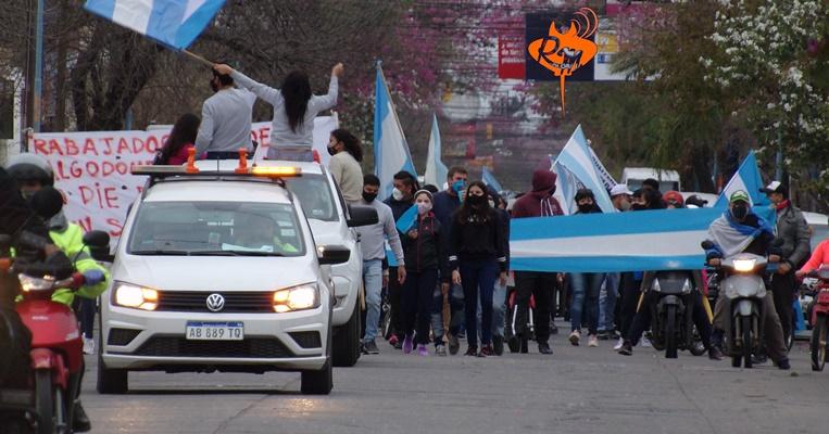 Algodonera Avellaneda: Marcha y Conciliación bajo protesta