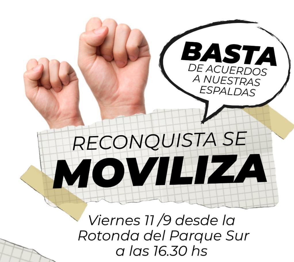 MANIFESTACIÓN DE EMPLEADOS PÚBLICOS AUTOCONVOCADOS