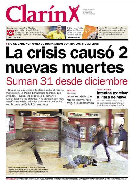 La crisis causó 2 nuevas muertes