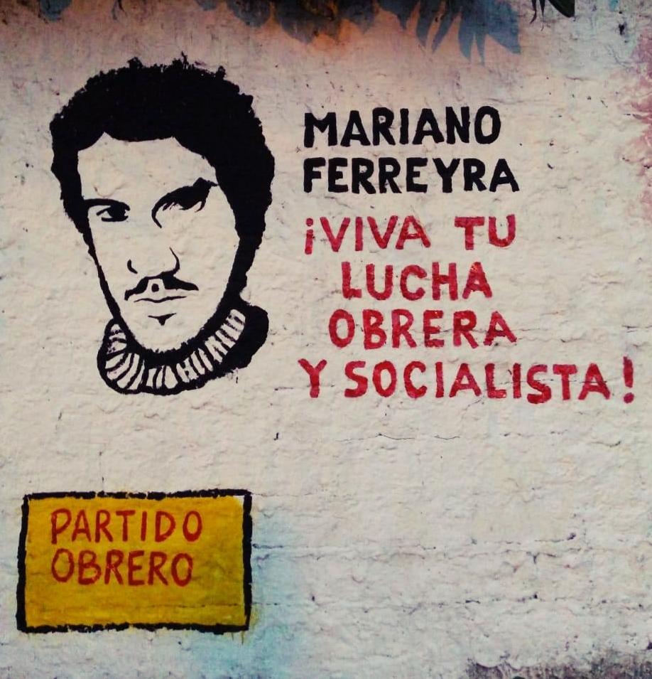 Mural por Mariano Ferreyra a 10 años de su asesinato