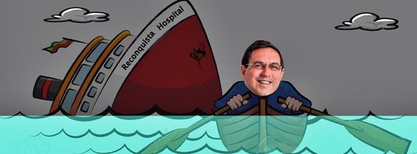 El capitán abandonó el barco