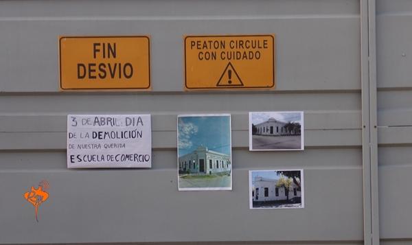 La demolición de una escuela y la estafa al pueblo